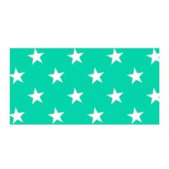 Star Pattern Paper Green Satin Wrap by Alisyart