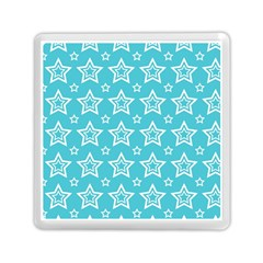 Star Blue White Line Space Sky Memory Card Reader (square)  by Alisyart