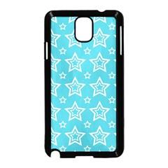 Star Blue White Line Space Sky Samsung Galaxy Note 3 Neo Hardshell Case (black) by Alisyart