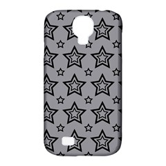 Star Grey Black Line Space Samsung Galaxy S4 Classic Hardshell Case (pc+silicone) by Alisyart