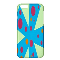 Starburst Shapes Large Circle Green Blue Red Orange Circle Apple Iphone 6 Plus/6s Plus Hardshell Case by Alisyart