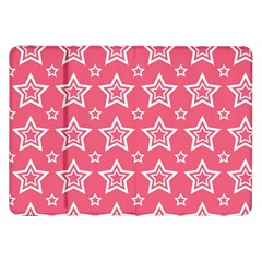 Star Pink White Line Space Samsung Galaxy Tab 8 9  P7300 Flip Case by Alisyart