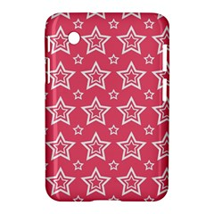Star Pink White Line Space Samsung Galaxy Tab 2 (7 ) P3100 Hardshell Case  by Alisyart