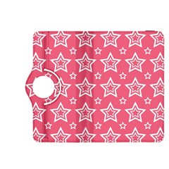 Star Pink White Line Space Kindle Fire Hdx 8 9  Flip 360 Case by Alisyart