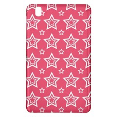 Star Pink White Line Space Samsung Galaxy Tab Pro 8 4 Hardshell Case by Alisyart