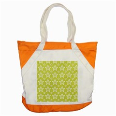 Star Yellow White Line Space Accent Tote Bag by Alisyart