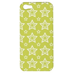 Star Yellow White Line Space Apple Iphone 5 Hardshell Case by Alisyart