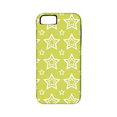 Star Yellow White Line Space Apple Iphone 5 Classic Hardshell Case (pc+silicone) by Alisyart