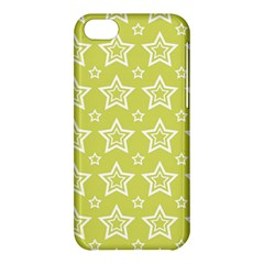 Star Yellow White Line Space Apple Iphone 5c Hardshell Case by Alisyart