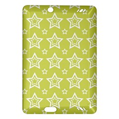 Star Yellow White Line Space Amazon Kindle Fire Hd (2013) Hardshell Case by Alisyart