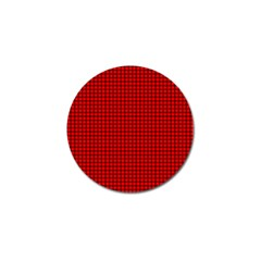 Red And Black Golf Ball Marker by PhotoNOLA