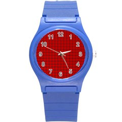 Red And Black Round Plastic Sport Watch (s) by PhotoNOLA