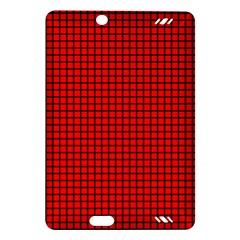 Red And Black Amazon Kindle Fire Hd (2013) Hardshell Case by PhotoNOLA
