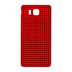 Red And Black Samsung Galaxy Alpha Hardshell Back Case by PhotoNOLA