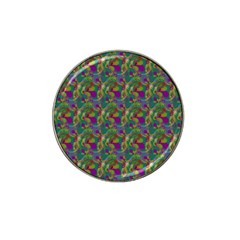 Pattern Abstract Paisley Swirls Hat Clip Ball Marker (10 Pack) by Simbadda