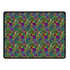 Pattern Abstract Paisley Swirls Fleece Blanket (small) by Simbadda