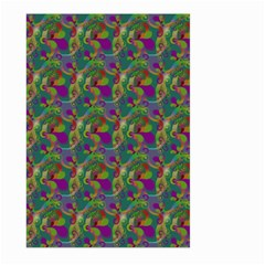 Pattern Abstract Paisley Swirls Large Garden Flag (two Sides) by Simbadda