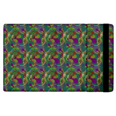 Pattern Abstract Paisley Swirls Apple Ipad 2 Flip Case by Simbadda