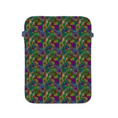 Pattern Abstract Paisley Swirls Apple Ipad 2/3/4 Protective Soft Cases by Simbadda