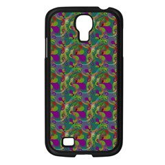 Pattern Abstract Paisley Swirls Samsung Galaxy S4 I9500/ I9505 Case (black) by Simbadda