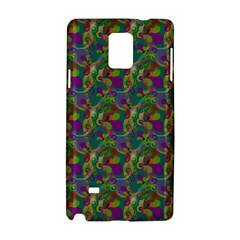 Pattern Abstract Paisley Swirls Samsung Galaxy Note 4 Hardshell Case by Simbadda