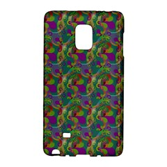 Pattern Abstract Paisley Swirls Galaxy Note Edge by Simbadda