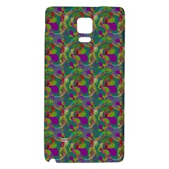 Pattern Abstract Paisley Swirls Galaxy Note 4 Back Case by Simbadda