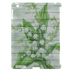 On Wood May Lily Of The Valley Apple Ipad 3/4 Hardshell Case (compatible With Smart Cover) by Simbadda