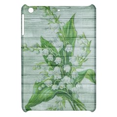 On Wood May Lily Of The Valley Apple Ipad Mini Hardshell Case by Simbadda