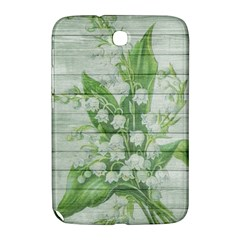 On Wood May Lily Of The Valley Samsung Galaxy Note 8 0 N5100 Hardshell Case  by Simbadda