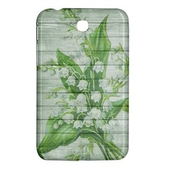 On Wood May Lily Of The Valley Samsung Galaxy Tab 3 (7 ) P3200 Hardshell Case  by Simbadda