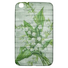 On Wood May Lily Of The Valley Samsung Galaxy Tab 3 (8 ) T3100 Hardshell Case  by Simbadda