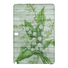 On Wood May Lily Of The Valley Samsung Galaxy Tab Pro 10 1 Hardshell Case by Simbadda