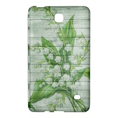 On Wood May Lily Of The Valley Samsung Galaxy Tab 4 (7 ) Hardshell Case  by Simbadda