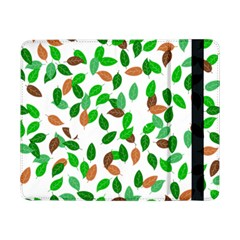 Leaves True Leaves Autumn Green Samsung Galaxy Tab Pro 8 4  Flip Case by Simbadda