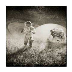 Astronaut Space Travel Space Tile Coasters by Simbadda