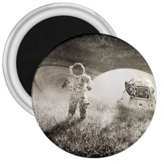 Astronaut Space Travel Space 3  Magnets by Simbadda