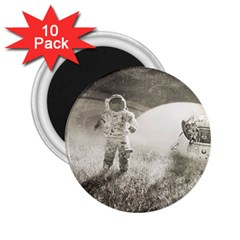Astronaut Space Travel Space 2 25  Magnets (10 Pack)  by Simbadda