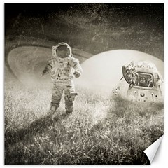 Astronaut Space Travel Space Canvas 20  X 20   by Simbadda