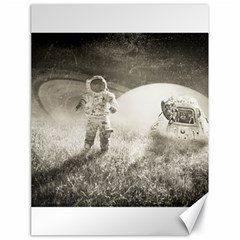 Astronaut Space Travel Space Canvas 18  X 24   by Simbadda