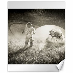 Astronaut Space Travel Space Canvas 11  X 14