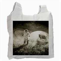 Astronaut Space Travel Space Recycle Bag (one Side) by Simbadda