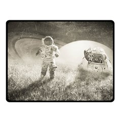 Astronaut Space Travel Space Fleece Blanket (small) by Simbadda