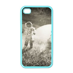 Astronaut Space Travel Space Apple Iphone 4 Case (color) by Simbadda