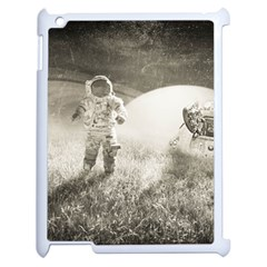 Astronaut Space Travel Space Apple Ipad 2 Case (white) by Simbadda