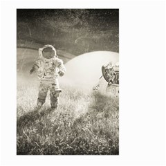 Astronaut Space Travel Space Large Garden Flag (two Sides) by Simbadda