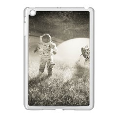 Astronaut Space Travel Space Apple Ipad Mini Case (white) by Simbadda