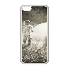 Astronaut Space Travel Space Apple Iphone 5c Seamless Case (white) by Simbadda