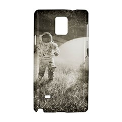 Astronaut Space Travel Space Samsung Galaxy Note 4 Hardshell Case by Simbadda