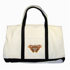 Butterfly Animal Insect Isolated Two Tone Tote Bag by Simbadda